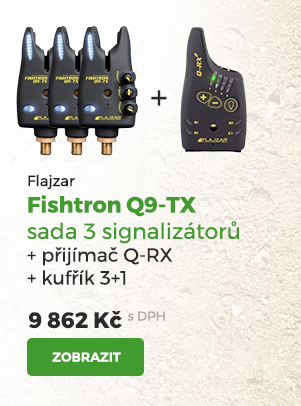 Flajzar Fishtron Q9-TX signalizátory