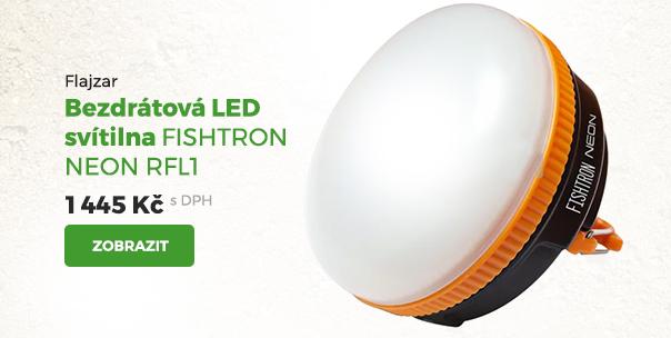 Flajzar bezdrátová LED svítilna Fishtron Neon