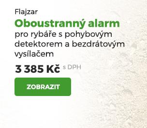 Flajzar Oboustranný alarm pro rybáře