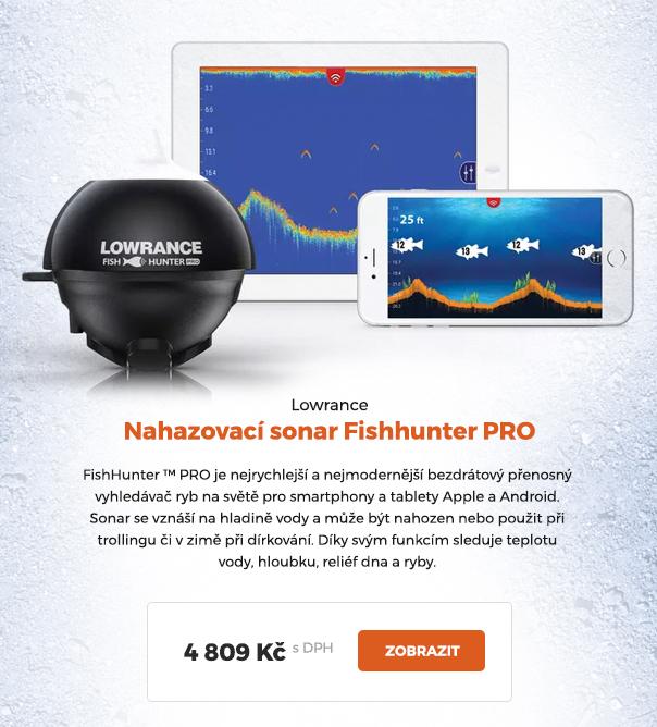 Nahazovací sonar Lowrance Fishhunter PRO