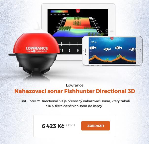 Nahazovací sonar Lowrance Fishhunter Directional