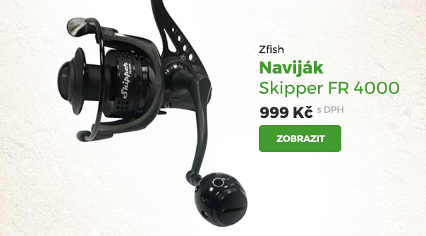 Naviják Zfish Skipper FR 4000