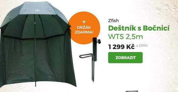 Deštník s bočnicí Zfish WTS