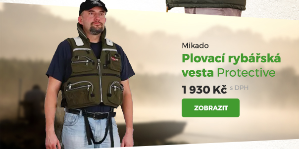 Mikado rybářská plovací vesta Protective