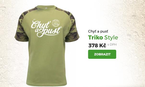 Chytapust tričko Style