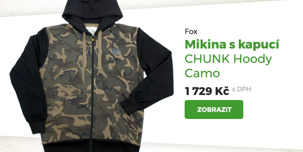 Fox mikina s kapucí Chunk