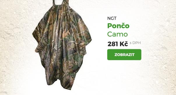 NGT pončo Camo