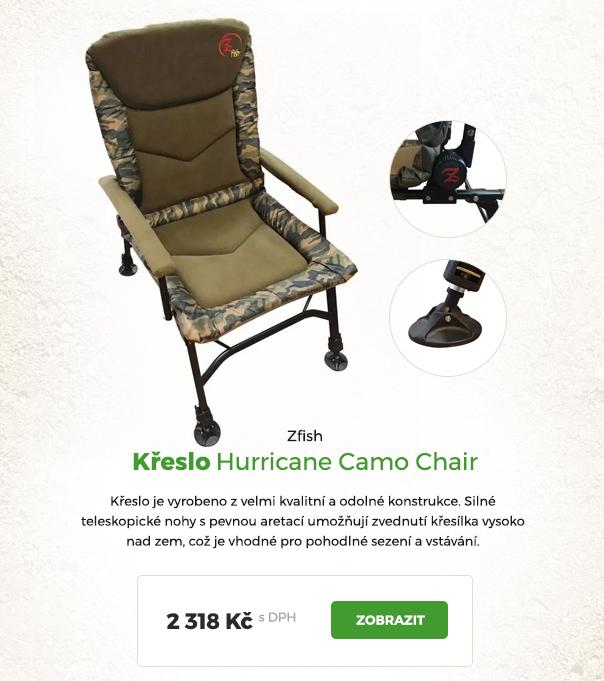 Křeslo Hurricane Camo Chair