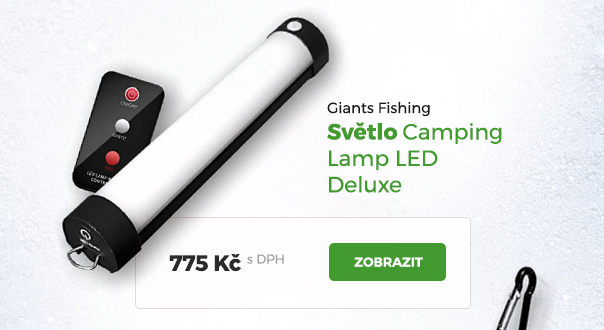 Světlo Giants Fishing Camping LED Deluxe