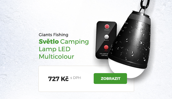 Světlo Giants Fishing Camping LED Mulitcolor