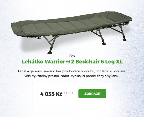 Lehátko Fox Warrior XL