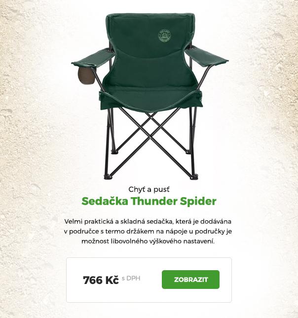 Sedačka Thunder Spider