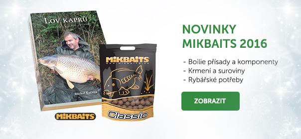 Novinky Mikbaits 2016