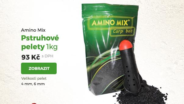 Amino Mix pstruhové pelety