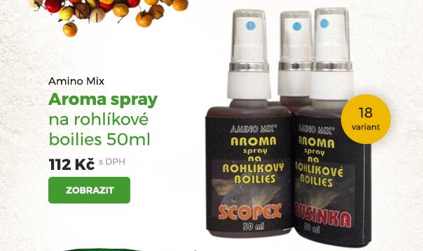 Amino Mix Aroma sprej na rohlíkové boilies