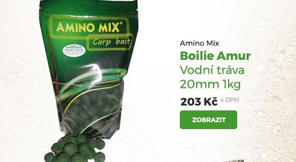 Amino Mix Boilie Amur vodní tráva