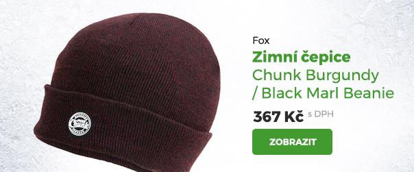 Fox zimní čepice Chunk Burgundy