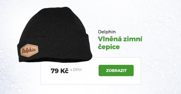 Zimní čepice Delphin