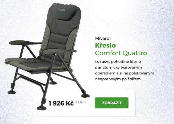 Křeslo Mivardi Comfort Quattro