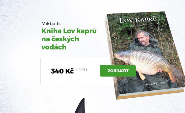 Lov kaprů na českých vodách Michal Kučera