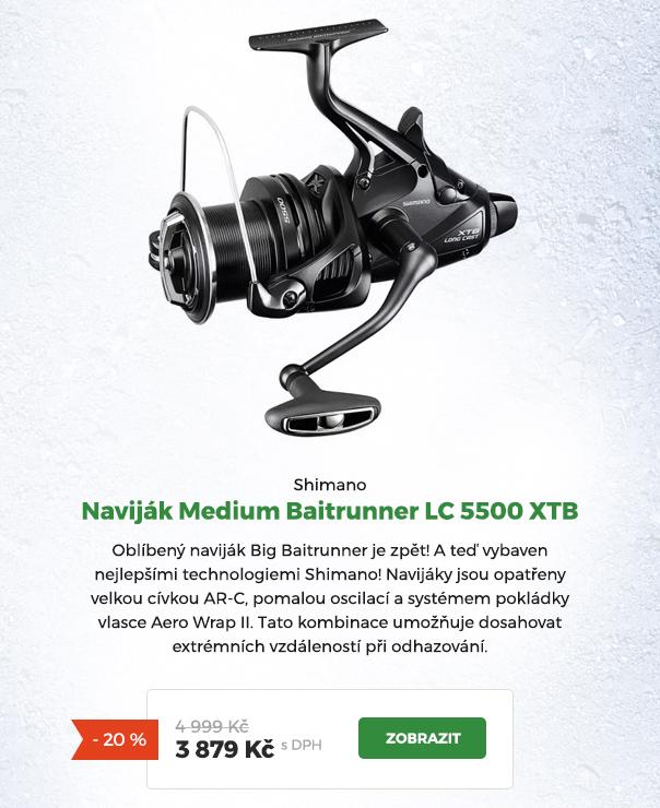 Naviják Shimano Medium Baitrunner LC 5500 XTB