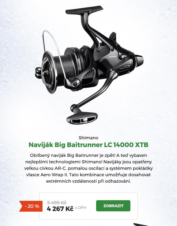 Naviják Shimano Big Baitrunner LC 14000 XTB
