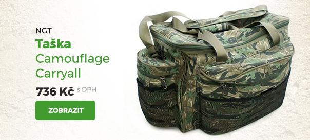 NGT taška Camuflage Carryall