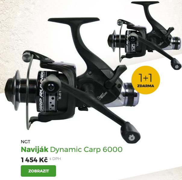 NGT naviják Dynamic Carp 6000