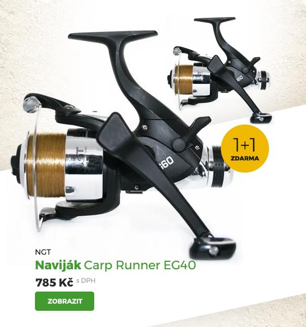 NGT naviják Carp Runner EG40