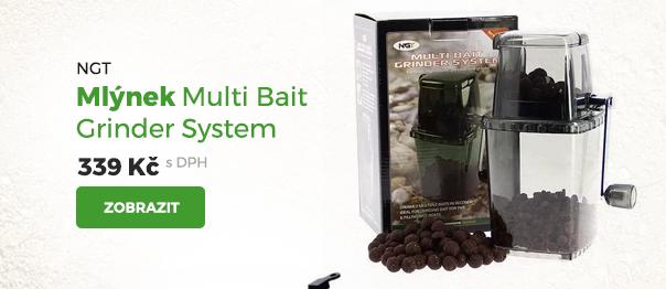 NGT mlýnek Multi Bait Grinder System