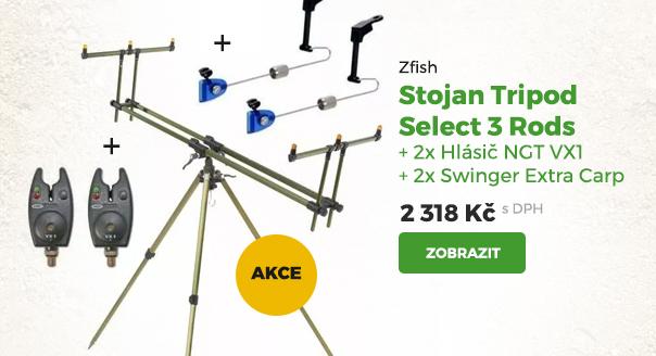 Zfish stojan Tripod Select