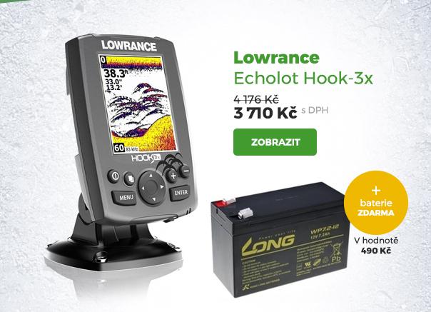 Lowrance Echolot Hook-3x
