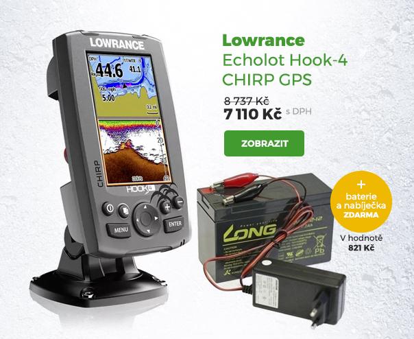 Lowrance echolot Hook-4 Chirp GPS