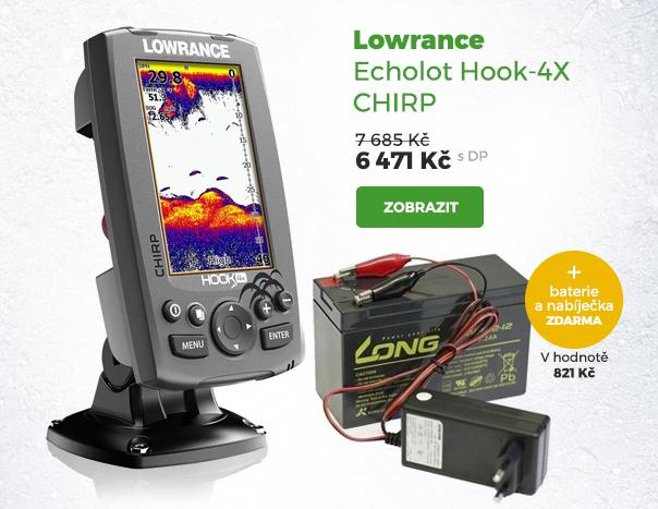 Lowrance echolot Hook-4X Chirp