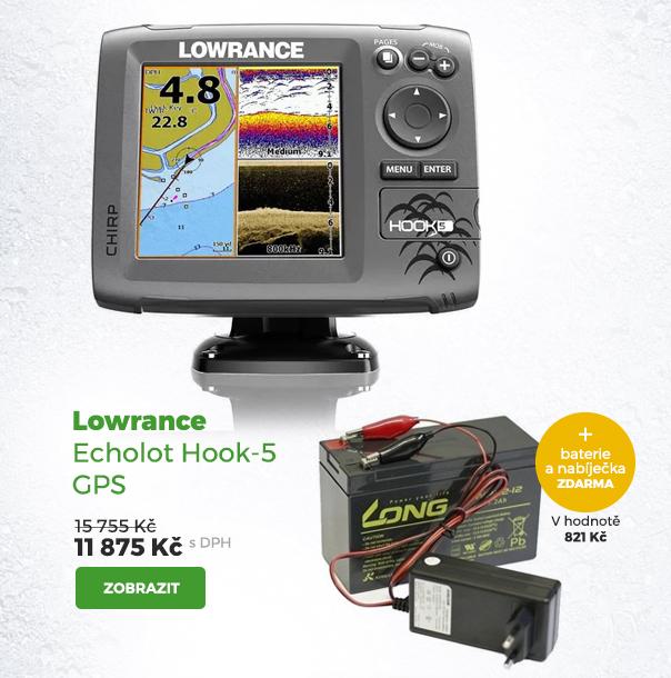 Lowrance echolot Hook-5 GPS