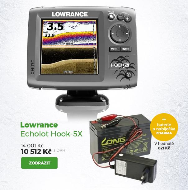 Lowrance echolot Hook-5X