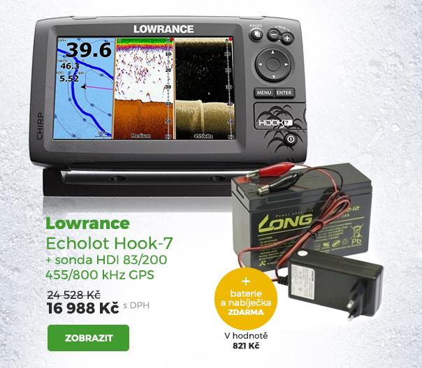 Lowrance echolot Hook-7