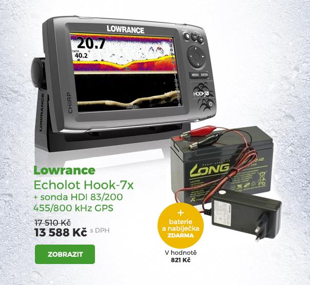 Lowrance echolot Hook-7X