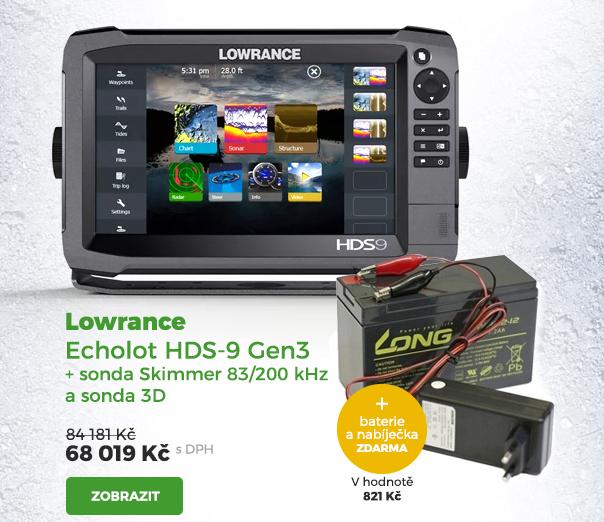 Lowrance echolot HDS-9 Gen3
