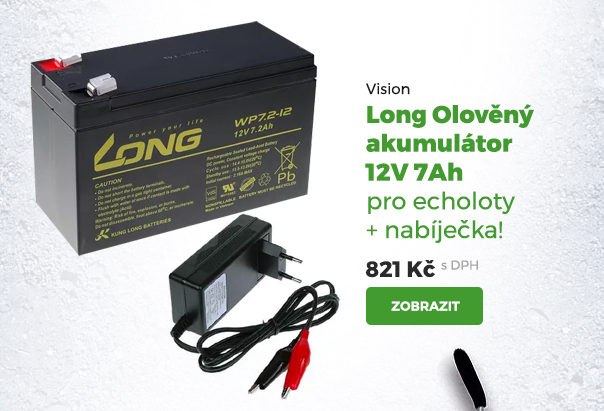 Vision Long olověný akumulátor