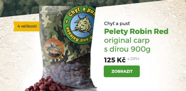 Pelety Robin Red original carp