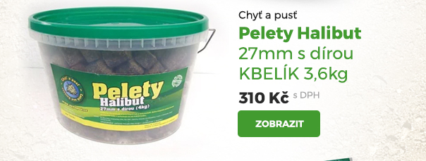 Pelety Halibut 27 mm