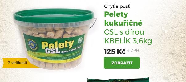Pelety kukuřičné CSL