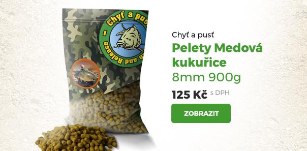 Pelety Medová kukuřice 8 mm