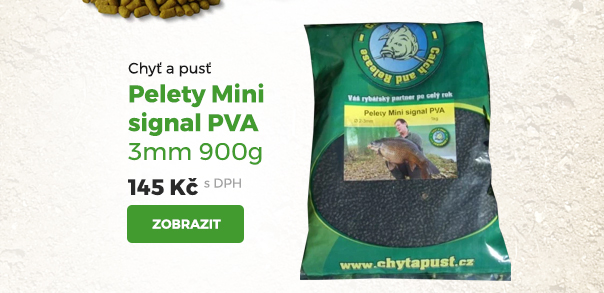 Pelety Mini signal PVA 3 mm