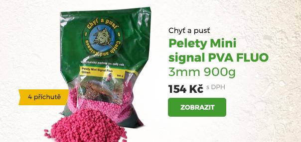Pelety Mini signal PVA Fluo