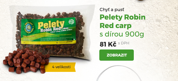 Pelety Robin Red carp