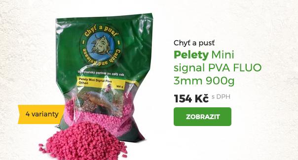Pelety MIni signal PVA Fluo 3mm