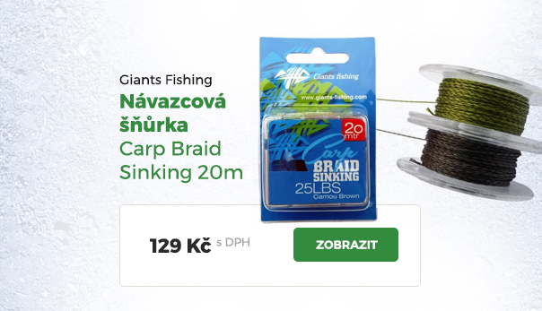 Návazcová šňůrka Giants Fishing Carp Braid