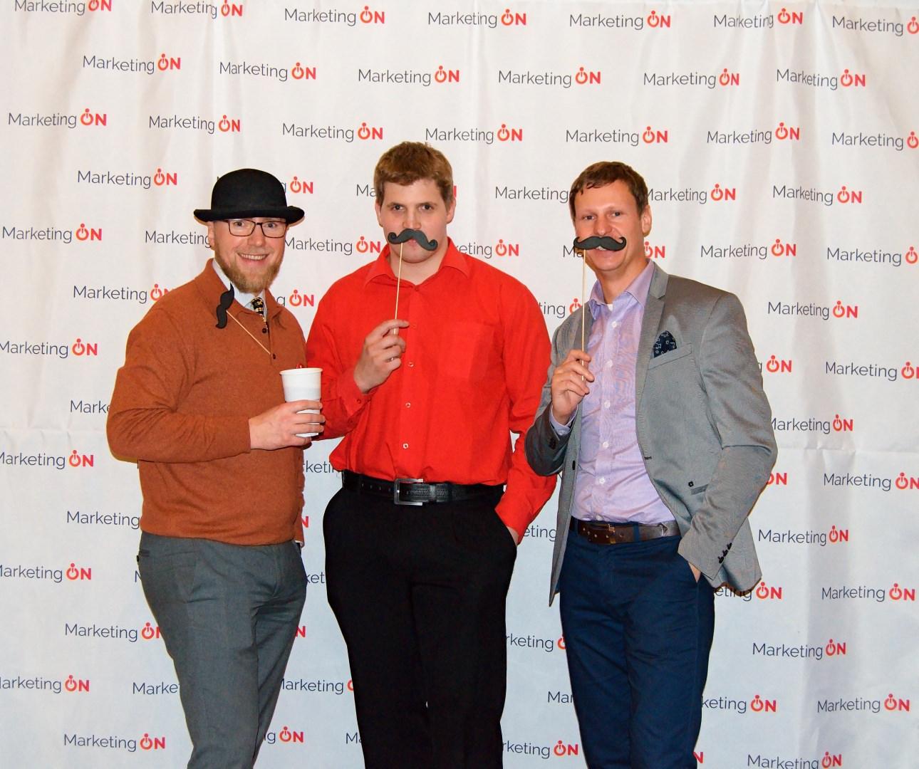 3 řečníky 1. MarketingONu pohromadě